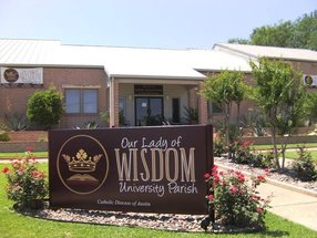 Our Lady of Wisdom University Parish in San Marcos,TX 78666
