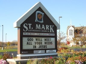 St. Mark Lutheran Church  in De Pere,WI 54115