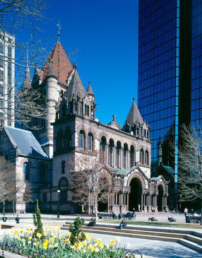Trinity Church in the City of Boston in Boston,MA 02116
