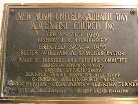 nyUNITEDsda Church