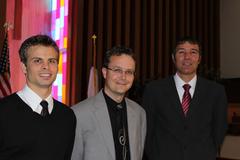 Photo: Ryan Watson, Michael Halfhill, Andy Moseley