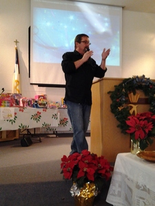 Pastor Marty Souter